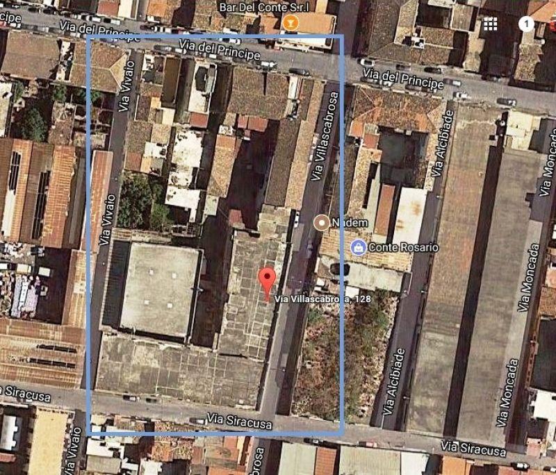 Struttura autonoma mq 4.000 - Via Villa Scabrosa - zona Porto/Faro Biscari - CT
